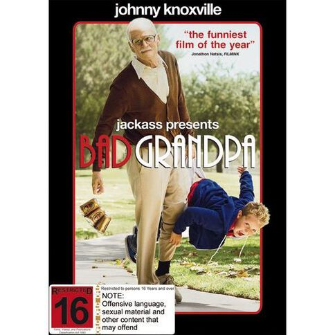 Jackass Presents Bad Grandpa DVD 1Disc