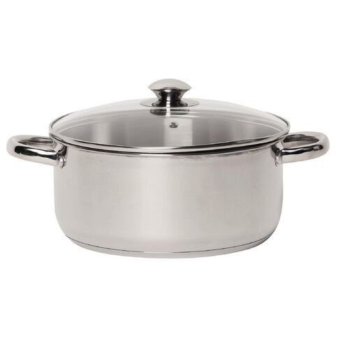 Harrison & Lane Stainless Steel Casserole 24cm