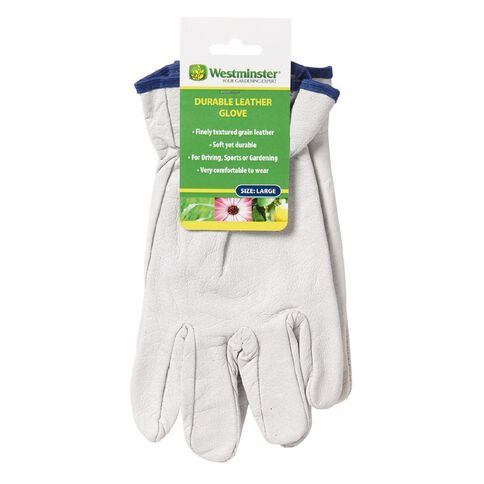 Westminster Pig Grain Leather Gloves Large Green