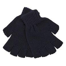 Basics Brand Boys' Half Finger Gloves