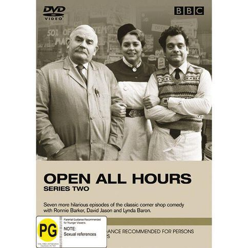Open All Hours Series 2 DVD 1Disc