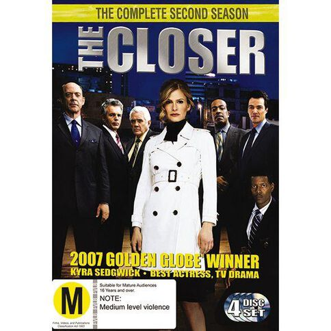 The Closer Season 2 DVD 4Disc