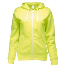 Basics Brand Women's Plain Zip-Thru Hoodie