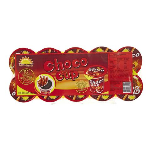 Happy Snack Choco Cup 160g 10 Pack