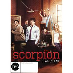 Scorpion Season 1 DVD 1Disc