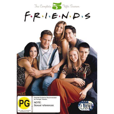 Friends: Season 5 DVD 4Disc