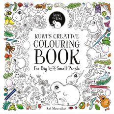 Kuwi's Creative Colouring Book by Kat Merewether