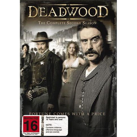 Deadwood Season 2 DVD 4Disc