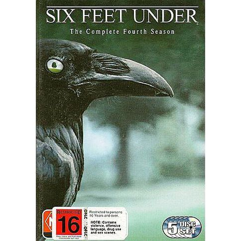 Six Feet Under The Complete 4th Season 5DVD