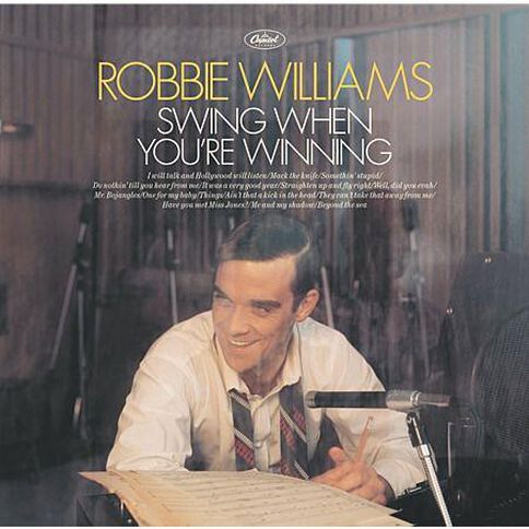 Swing When Your Winning CD by Robbie Williams 1Disc