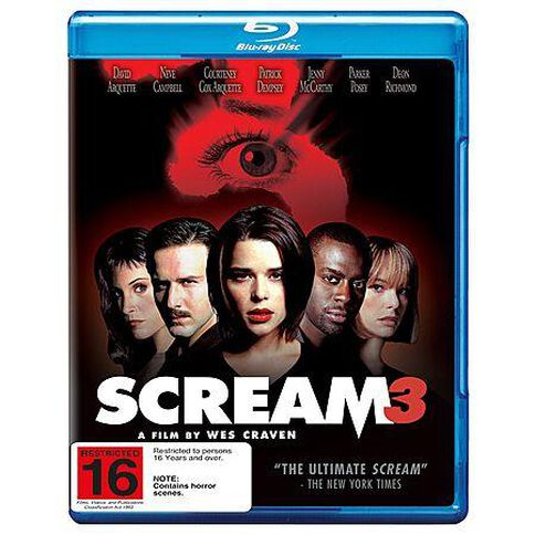 Scream 3 Blu-ray 1Disc