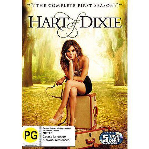 Hart Of Dixie Season 1 DVD 5Disc