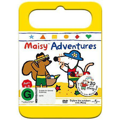 Maisy Adventures Vol 6 Yellow Handle Packaging DVD 1Disc