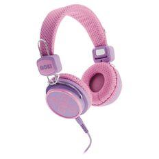 Moki Kids' Safe Headphones Pink/Purple