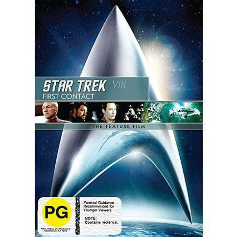 Star Trek 8 First Contact DVD 1Disc