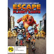 Escape From Planet Earth DVD 1Disc