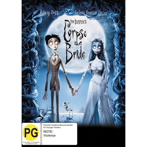Tim Burtons Corpse Bride DVD 1Disc