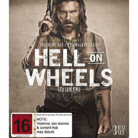 Hell On Wheels Season 2 Blu-ray 3Disc