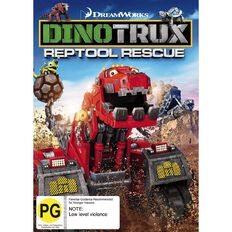 Dinotrux Reptool Rescue DVD 1Disc