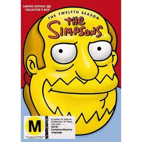 The Simpsons Season 12 DVD 4Disc