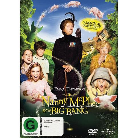 Nanny McPhee And The Big Bang DVD 1Disc