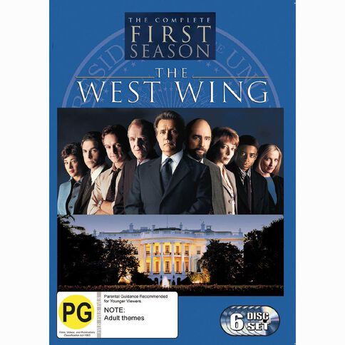 The West Wing Season 1 DVD 6Disc