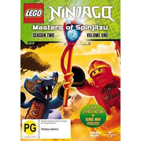LEGO Ninjago Masters Of Spinjitzu Series 2 Vol 1 DVD 1Disc