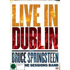 Bruce Springsteen with The Sessions Band Live In Dublin DVD 1Disc