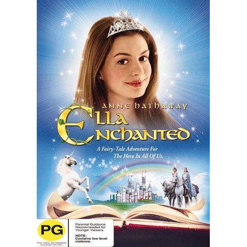 Ella Enchanted DVD 1Disc
