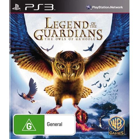 PS3 Legends of the Guardians Owls of  Ga Hoole