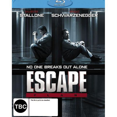 Escape Plan Blu-ray 1Disc