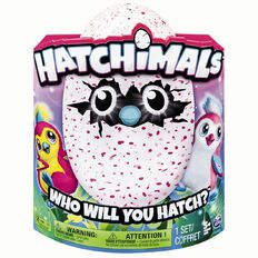 Hatchimals Pengualas Light Pink or Dark Pink Assorted