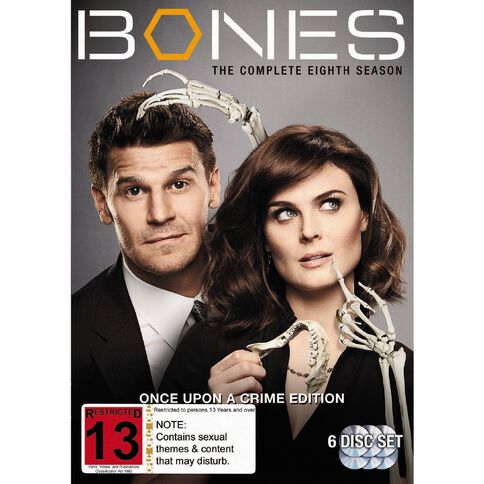 Bones Season 8 DVD 6Disc