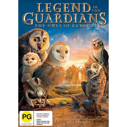 Legend Of The Guardian The Owls Of GaHoole DVD 1Disc