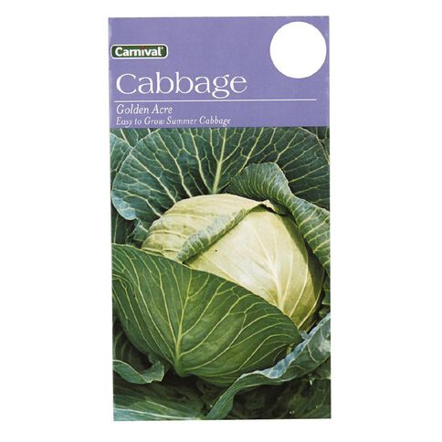 Carnival Seeds Cabbage Vegetable