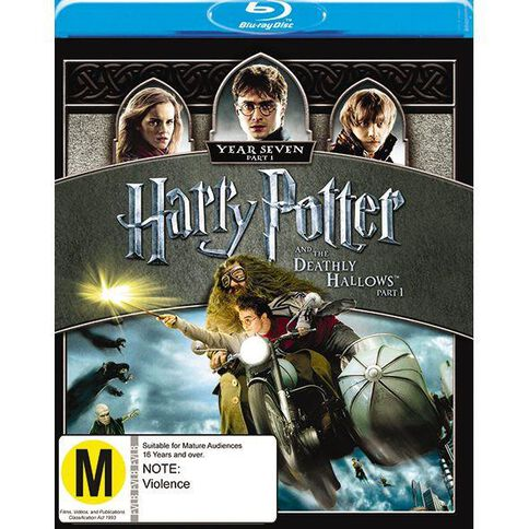 Hp & The Deathly Hallows Part t 1 Blu-ray 1Disc