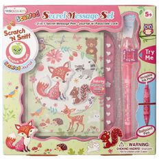 Princess Kits Fox Secret Message Set