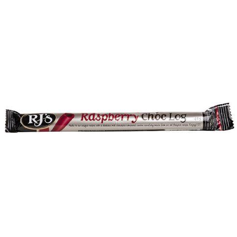 RJ's Choc Log Raspberry 40g