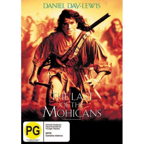 Last Of the Mohicans DVD 1Disc