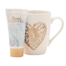 Always & Forever Hand Cream 50g Mug Set