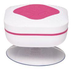 Splashproof Bluetooth Speaker with FM Radio BTS 15 White/Pink