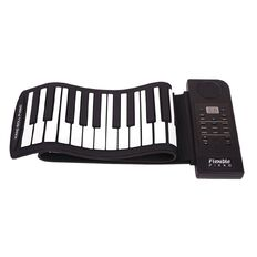Konix Roll Up Piano 61 Keys with Built-In Speaker