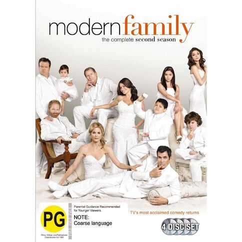 Modern Family Season 2 DVD 4Disc