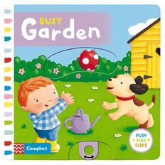Busy Garden Board Book by Rebecca Finn