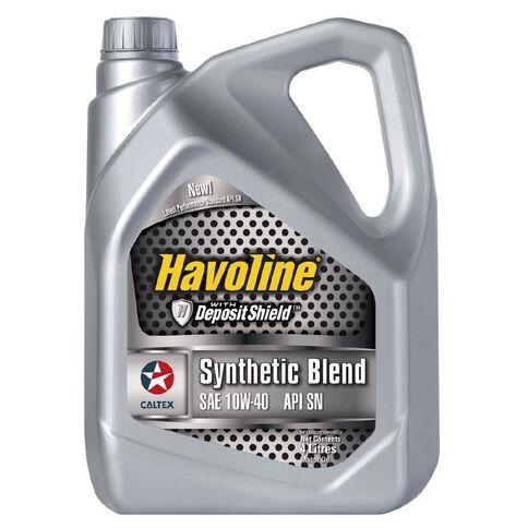 Caltex Havoline Synthetic Blend (SN) 10W-40 4L