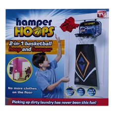As Seen On TV Hamper Hoops Laundry Basket