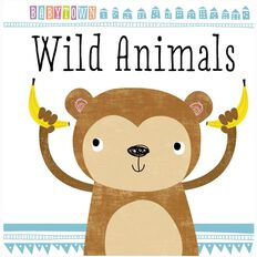 Baby Town Wild Animals Padded Board Book