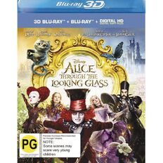 Alice Through the Looking Glass 3D Blu-ray 2Disc