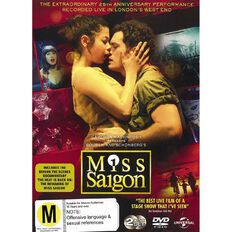 Miss Saigon Live DVD 1Disc