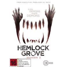 Hemlock Grove Series 2 DVD 3Disc